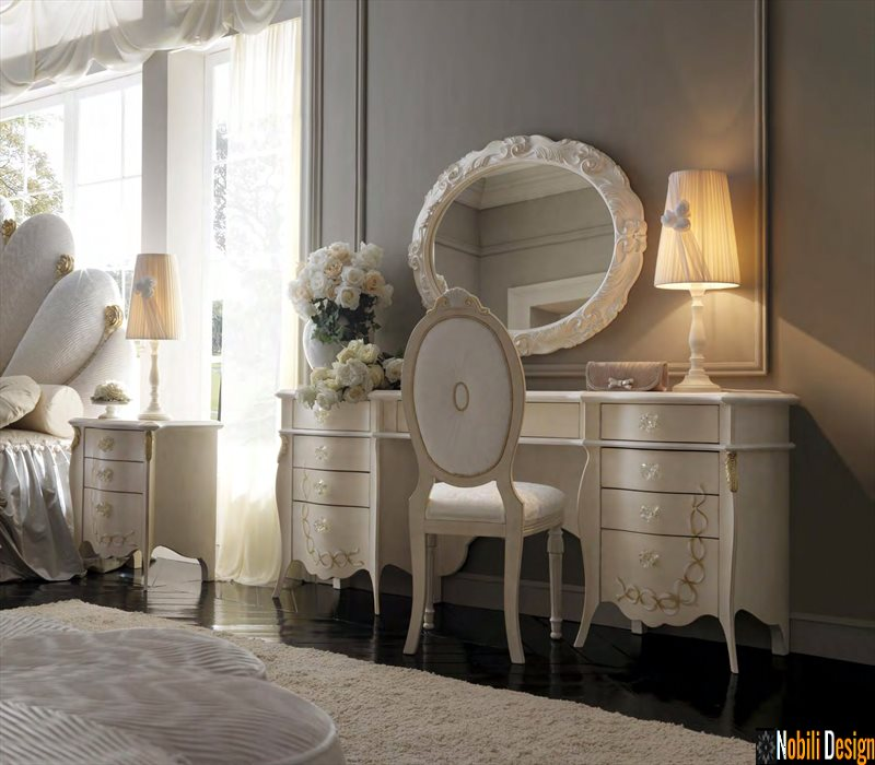 mobilier dormitor clasic toaleta italia
