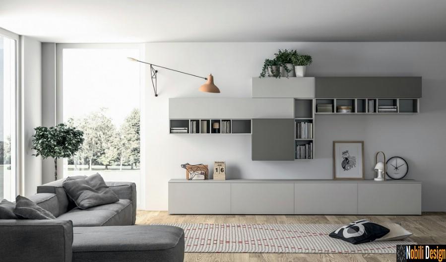 mobilier living modern colectia slim italia   nobili