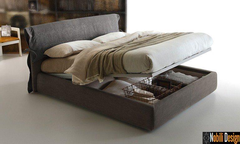 pat tapitat dormitor stofa piele DIXON Ditre Italia 01