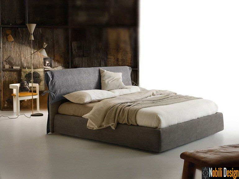 pat tapitat dormitor stofa piele DIXON Ditre Italia | Mobilier - dormitor - Constanta