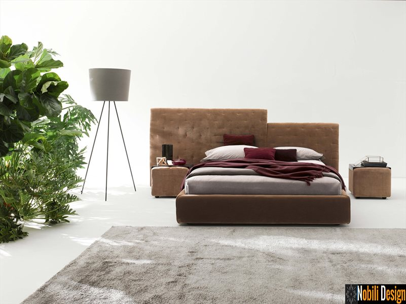 pat tapitat dormitor stofa piele ECLECTICO Ditre Italia | Mobila - dormitor - Galati