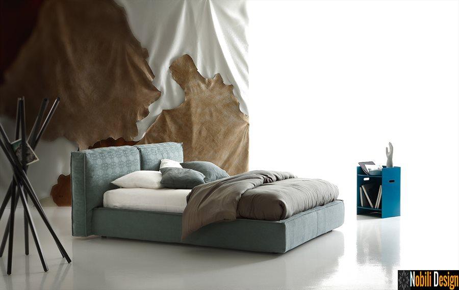 pat tapitat dormitor stofa piele FLANN Ditre Italia | Mobila - dormitor - Brasov