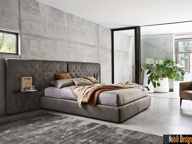 pat tapitat dormitor stofa piele KAHANA Ditre Italia | Mobila - Constanta - Paturi - matrimoniale
