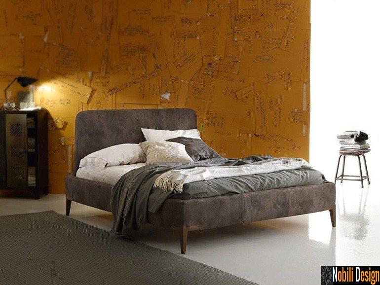 pat tapitat dormitor stofa piele MILONGA Ditre Italia | Mobila - dormitor - Ploiesti