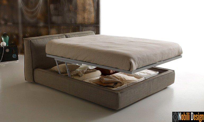 pat tapitat dormitor stofa piele MISTY Ditre Italia | Mobila - dormitor - Braila