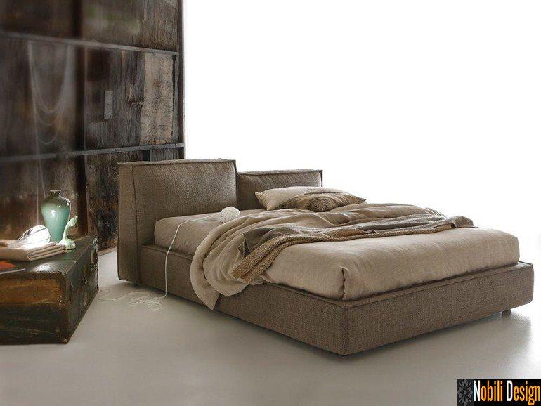 pat tapitat dormitor stofa piele MISTY Ditre Italia | Mobila - dormitor - Calarasi