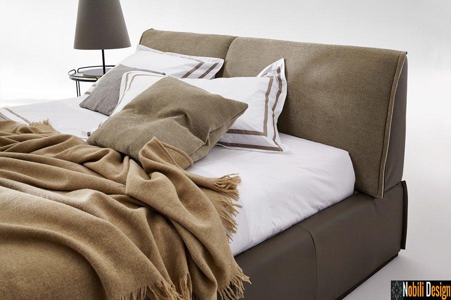 pat tapitat dormitor stofa piele MONOLITH Bed Ditre Italia | Paturi - italiane - Constanta