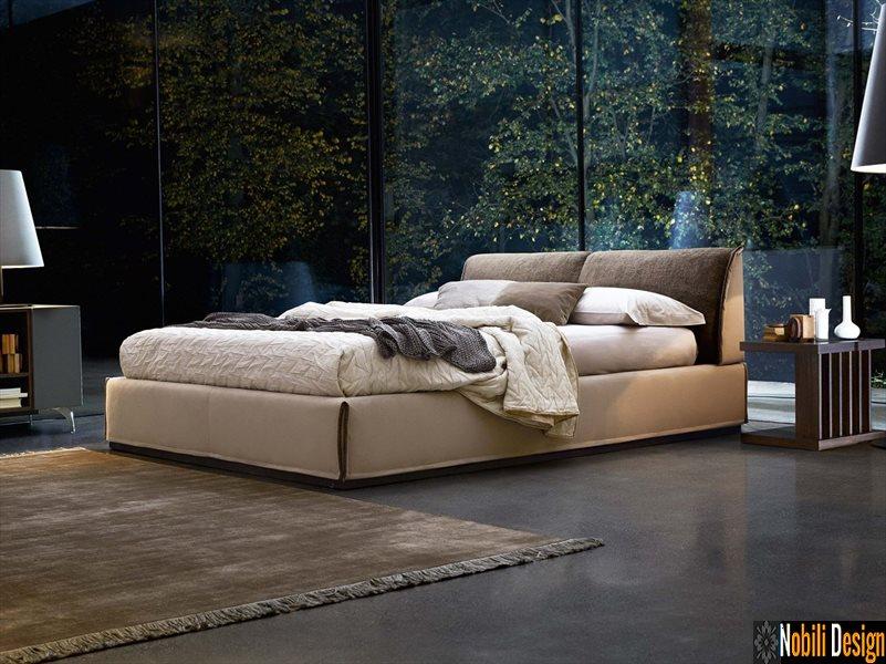 pat tapitat dormitor stofa piele MONOLITH Ditre Italia | Pat - dublu - Constanta