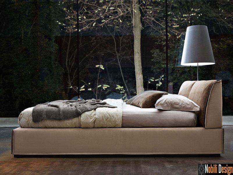 pat tapitat dormitor stofa piele MONOLITH Ditre Italia | Mobilier - dormitoare - Constanta