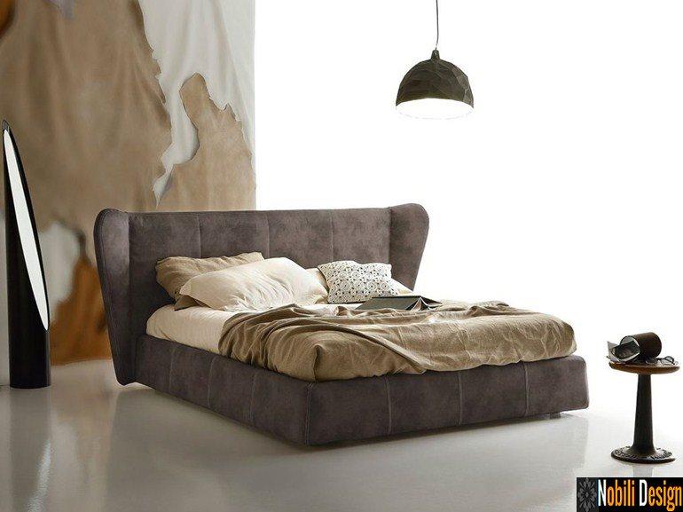 pat tapitat dormitor stofa piele OPUS Ditre Italia | Mobila - dormitor - Rovere - Mobili - Constanta