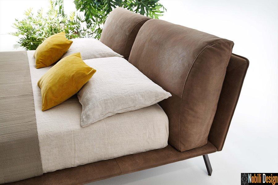 pat tapitat dormitor stofa piele naturala KAHANA Ditre Italia | Alternativa -  pat - Dedeman - Constanta