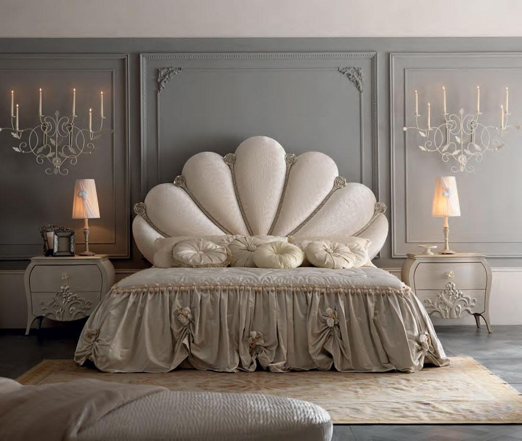 Pat Tapitat Clasic De Lux Capri Mobilier Dormitor Italia