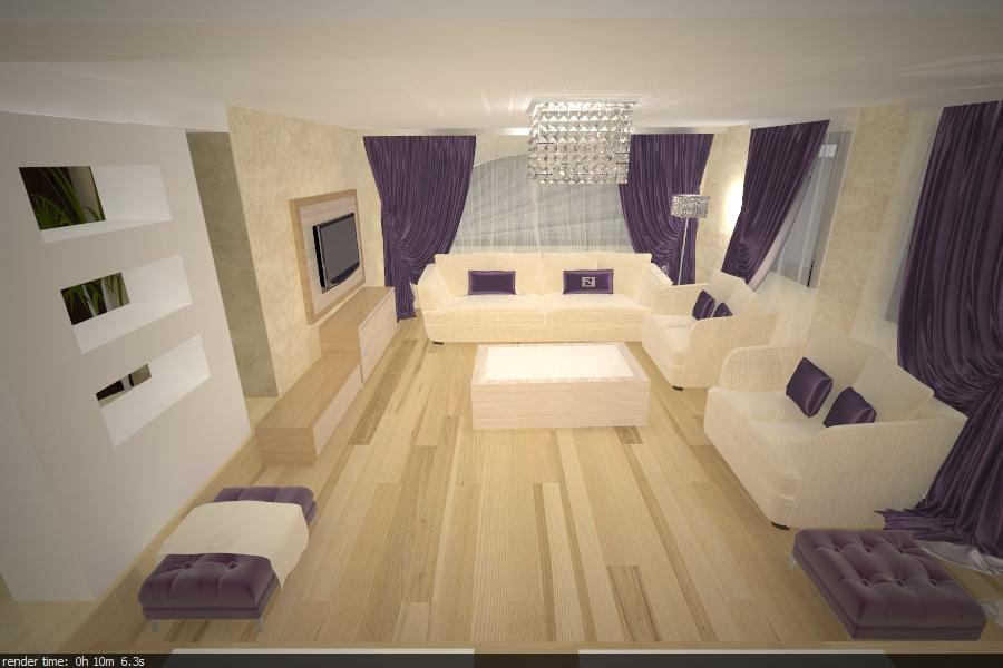 proiectare-interior-living-casa-constanta