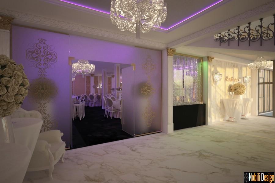 design interior sala evenimente nunti harsova | Amenajare interioara sala evenimente Harsova.