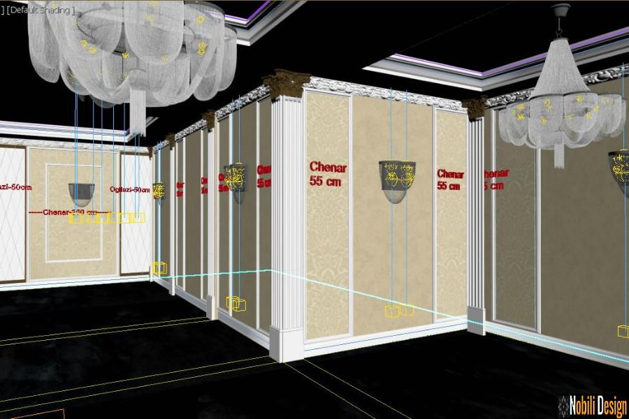 proiect design interior sala evenimente | Arhitect proiectare sala evenimente in Constanta.