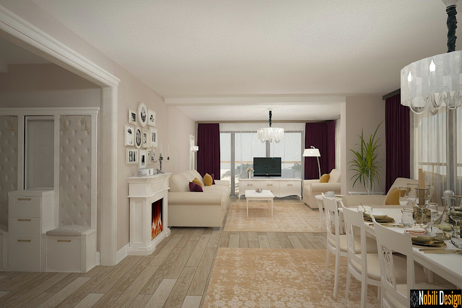 design interior casa stil clasic modern craiova | Firma de design interior Craiova.