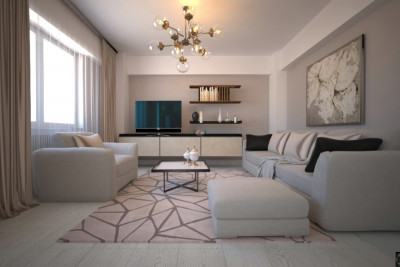 Design interior apartament 4 camere Azuga