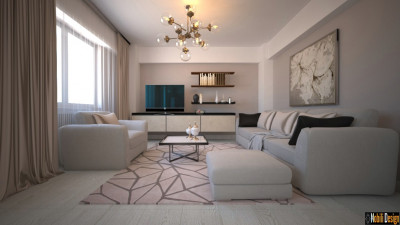 Design living apartament modern Săcele