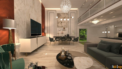 Design interior living modern de lux Braila