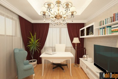 Design interior living apartament clasic