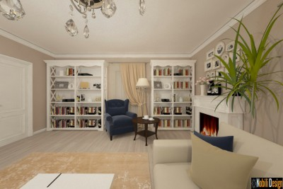 Design interior Tulcea - Amenajare living open space