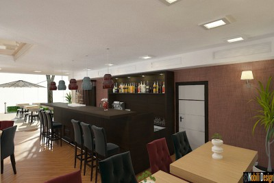 Design interior restaurant mediteraneean in Constanta