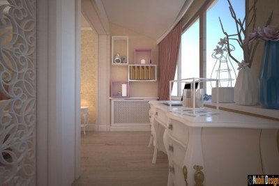Design interior casa stil clasic in Galati