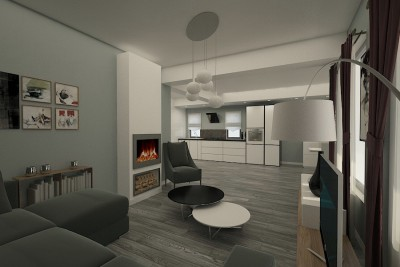 Design interior casa moderna in Braila