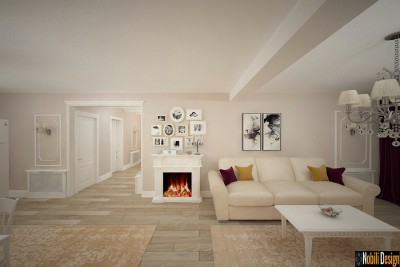 Design interior casa clasica in Targoviste