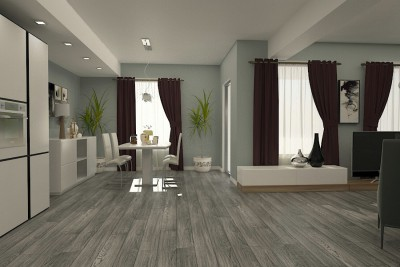 Design interior living casa moderna - braila.