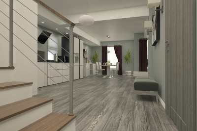 design interior living open space braila