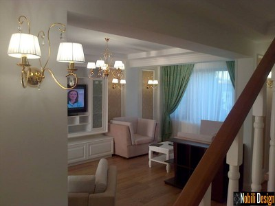 Design interior vile new classic Constanta