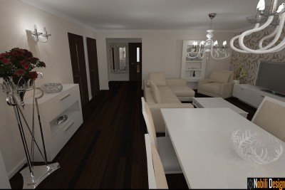 Design interior apartament clasic modern