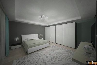 Design interior case in stil modern cu etaj in Constanta
