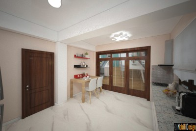 Design interior case amenajate modern in Bacau