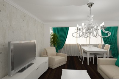 Tendinte design interior living modern