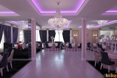Design interior salon evenimente Bucuresti
