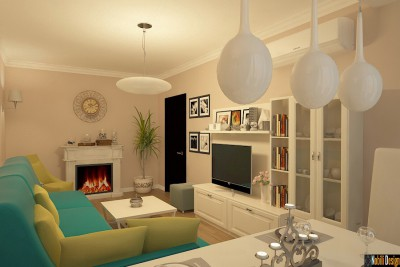 Design interior apartament clasic in Bucuresti
