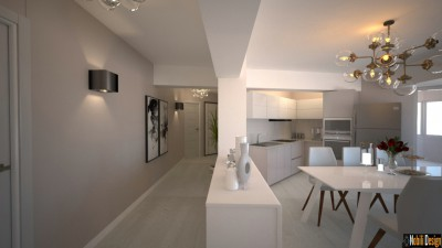Design interior apartament modern in Bucuresti