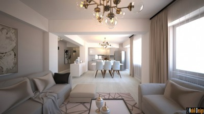 design interior apartament modern in bucuresti | proiect design apartament online.