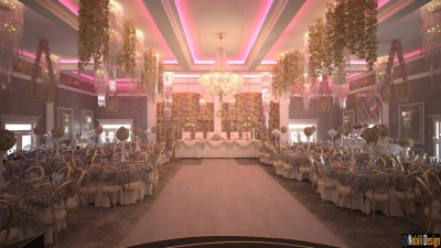 Design interior salon ballroom in Bucuresti