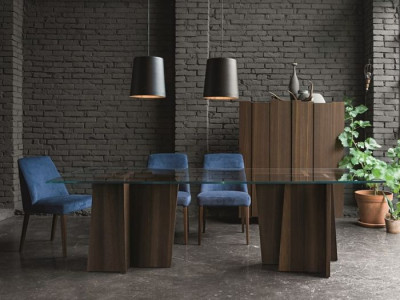 Masa dining stripe dallagnese 2.800 euro