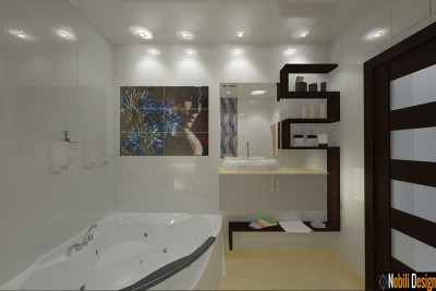 Design - interior - baie - apartament - pret