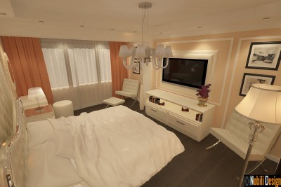 Design - interior - dormitor - apartament - bucuresti